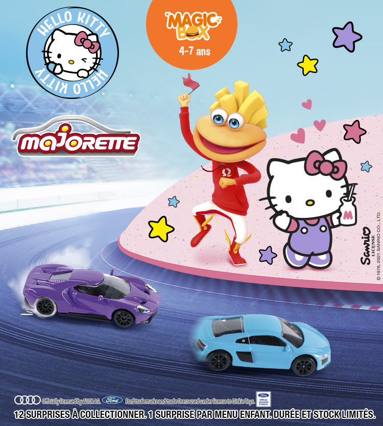 Magic Box TF Hello Kitty / Majorette / Asmodee - NC